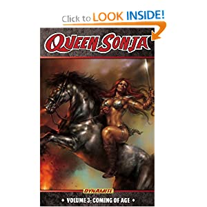 Queen Sonja Volume 3: Coming of Age TP (Red Sonja) by Luke Lieberman and Mel Rubi