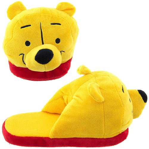 Image of Winnie the Pooh Cartoon Slippers for Women (B0096UBNS8)