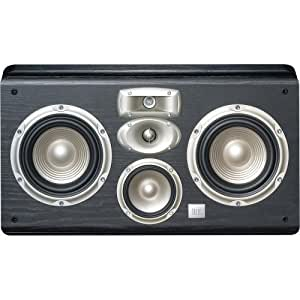 JBL LC2 4-Way, High Performance 6-inch Dual Wall-Mountable Center Channel Loudspeaker (Black)