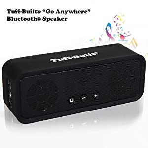 """These wireless portable speakers HAVE BEEN AROUND FOR YEARS GIVING BOSE-LIKE SOUNDS. With """"Go Anywhere"""" Wireless Speakers you have clear, crisp sounds on the phone and in your car. This Speaker is your high-end Music Choice for portable phone speakers. It is simply one of the best wireless speakers. """"Go Anywhere"""" Bluetooth Speakers are for Wireless Speakers for phone, Wireless Speakers, iPhone speakers wireless, wireless speakers for iPhone, portable speakers, PC speakers, mini speakers, and tablet speakers. NOW 1st TIME ON AMAZON-WE OFFER A HUGH DISCOUNT"""