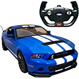 Smart Picks Officially Licensed Electric 1:14 Scale Full Function Ford Shelby GT500 Remote Control Car (Blue)