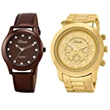 Breda Women's 7223-brown.2308-gold Work & Play Watch Set
