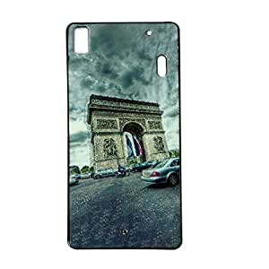 VAV New Sparkle Printed Soft Back Case Cover For Lenovo K3 Note/ Lenovo A7000