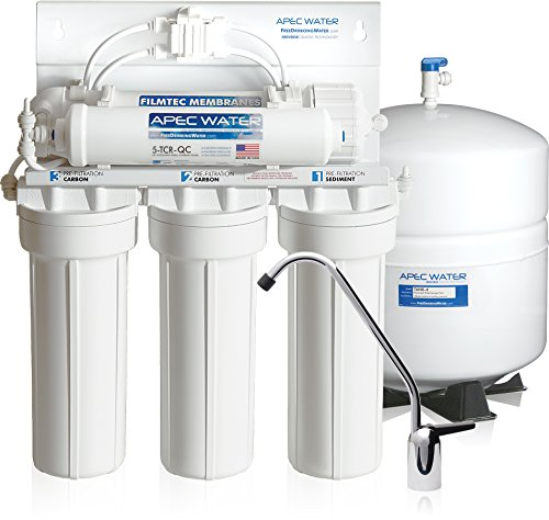 APEC Water Systems RO-90 Premium 90 GPD High-Flow Reverse Osmosis Drinking Water Filter System