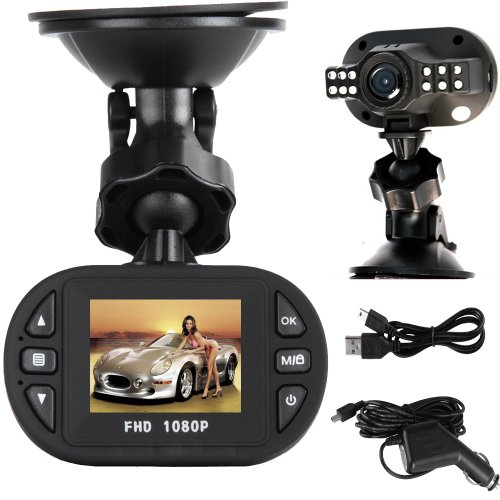 Pasonomi C600 1080P Full HD Car DVR 12 Ir LED Carcam G-sensor Camera 120A+ Grade High-resolution Ultra Wide-angle Len