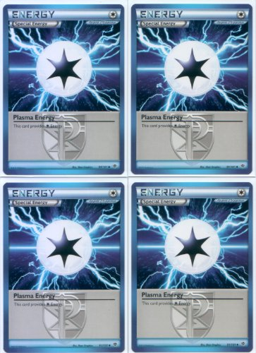 x4 Plasma Energy (Plasma Blast #91/101) Pokemon Card Playset [Special Energy]
