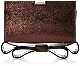 Zac Zac Posen Milla Clutch, Elderberry, One Size