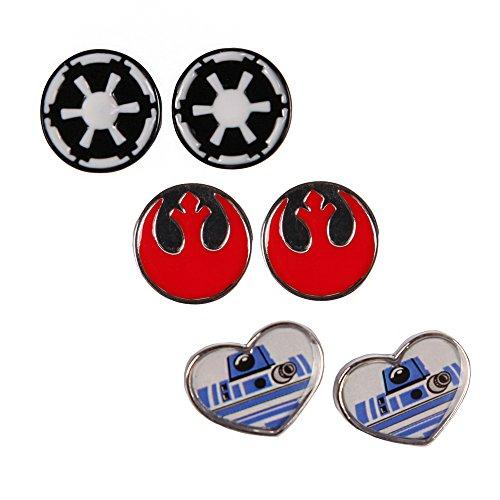 Star Wars Logo Love Stud Earring Set