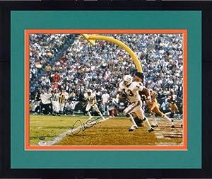 Framed Jake Scott Autographed Miami Dolphins Photo - 16x20 - SM - JSA Certified -... by Sports Memorabilia