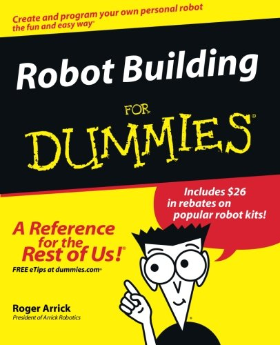 Robot Building For Dummies front-994351