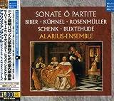 ドイツ盛期バロックの弦楽器のための室内楽曲集