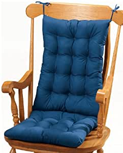 Rocking Chair Cushion Blue Home Kitchen
