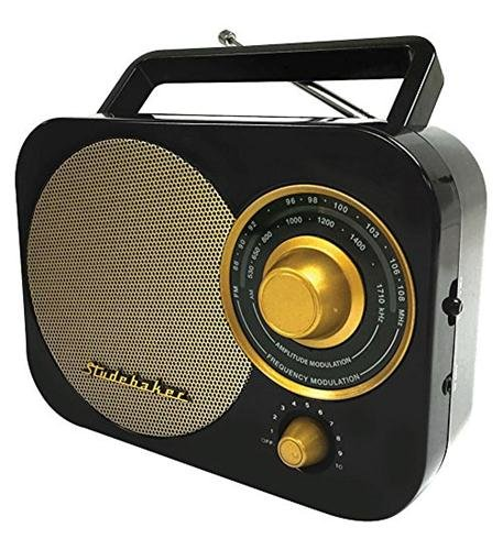 black-retro-studebaker-sb2000-replica-portable-am-fm-radio-with-aux-input