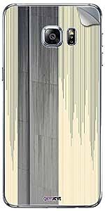 GsmKart SGS6EP Mobile Skin for Samsung Galaxy S6 Edge Plus (Yellow, Galaxy S6 Edge Plus-939)