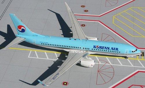 1: 200 ジェミニジェット Korean Air ボーイング 737-800 (並行輸入)