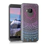 kwmobile Crystal Case Hülle für HTC One M9 aus TPU