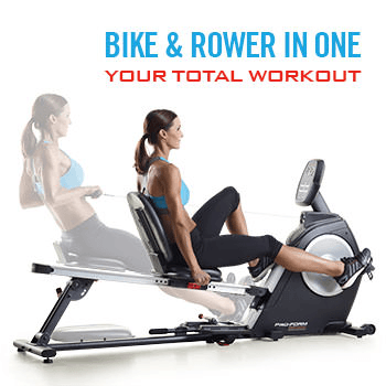 Bike & Rower in One: Your Total Workout