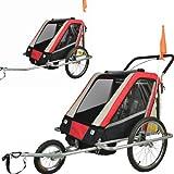 Vollgefederter Kinderfahrradanhänger Exclusiv Modell 2016 NEU Fahrradanhänger Kinderanhänger 503-01