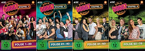 Köln 50667 - Staffel 1 -4 im Set - Deutsche Originalware [16 DVDs] hier kaufen