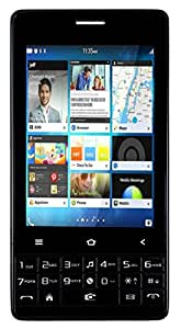 Disko Q400 Touch and Keyboad Mobile phone in Black Colour