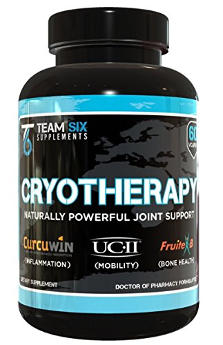 CRYOTHERAPY - All-Natural Joint Support Powerhouse, Clinically Dosed Natural Remedy For Increased Mobility and Joint Pain Relief, Strongest Natural Joint Health Formula On The Market, 60 V-Caps