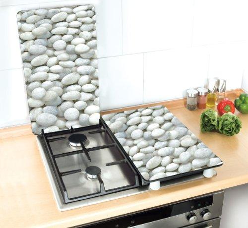 Wenko 2521300100 coprifuochi vetro universale pebble set for Tipi di piani di casa