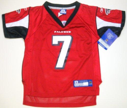 NFL Reebok Atlanta Falcons Michael Vick Youth Jersey Kids Medium Size 5 6  Red 59ee7a9cb