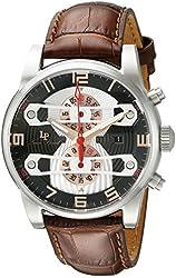 Lucien Piccard Men's LP-40045-01-RA Bosphorbus Analog Display Japanese Quartz Brown Watch