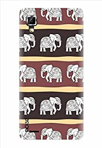 Noise Haathi Mera Saathi Printed Cover for Lenovo P780