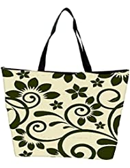 Snoogg Seamless Floral Pattern Abstract Background Waterproof Bag Made Of High Strength Nylon - B01I1KKE8S