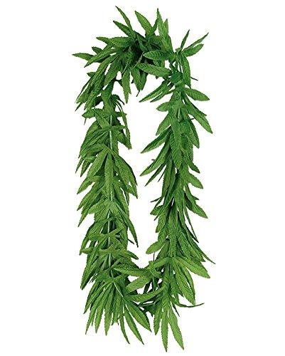 Pot Marijuana Leaf Fern Lei
