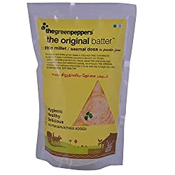 The Green Peppers Little Millet Dosa Powder, 400 Gms