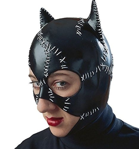 Mememall Offical Catwoman Costume Mask Returns Michelle Pfeiffer Licensed Adult (Michelle Pfeiffer Catwoman Costume)