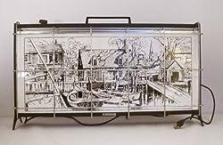 Lionel Barrymore Porcelain Space Heater