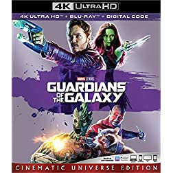 GUARDIANS OF THE GALAXY [4K Ultra HD + Blu-ray]