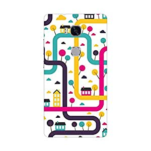 HUAWEI HONOR 5X Cover, Premium Quality Designer Printed 3D Lightweight Slim Matte Finish Hard Case Back Cover for Honor 5x - Giftroom-902