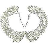 niceeshop(TM) False Collar Necklaces Romantic Necklaces with Artificial Pearl
