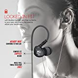 Cheap MEElectronics Sport-Fi M6P Memory Wire In-Ear Headphones with Microphone, Remote, and Universal Volume Control (Black)