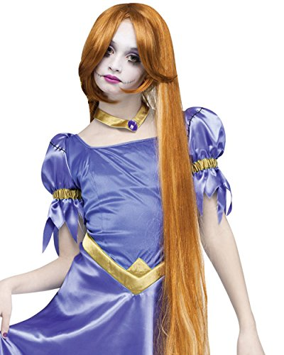 Adult Once Upon A Zombie Princess Rapunzel Wig Costume, One Size