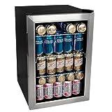 New - EdgeStar 84 Can Beverage Cooler - Stainless Steel by Edgestar