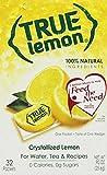 True Citrus - True Lemon Crystallized Lemon 32 x .8g Packets - 0.90 oz