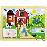 Melissa & Doug Farm Jigsaw (12 Pieces)