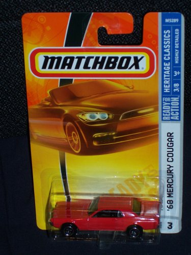 Matchbox 2008 Heritage Classics #3 68 Mercury Cougar Red 3 of 8 - 1