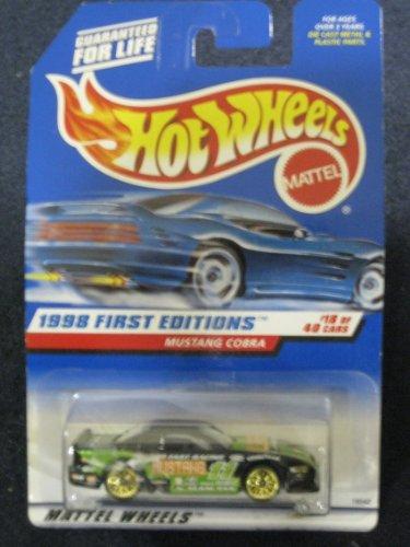 Hot Wheels Mustang Cobra - 1998 1st Editions #18 of 40 #665 - 1