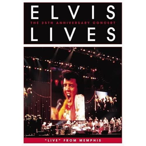 Elvis Lives The 25th Anniversary Concert Live From Memphis (DVD Amaray Packaging)