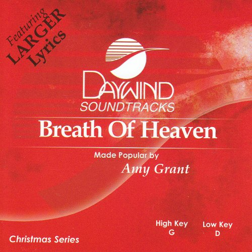 Breath Of Heaven [Accompaniment/Performance Track]
