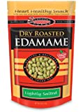 Seapoint Farms Dry Roasted Edamame, Lightly Salted, 4-Ounce Pouches (Pack of 12)