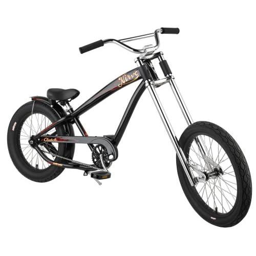 Amazon.com : Nirve Clutch Kids 20-Inch Chopper Bike (Gloss Black