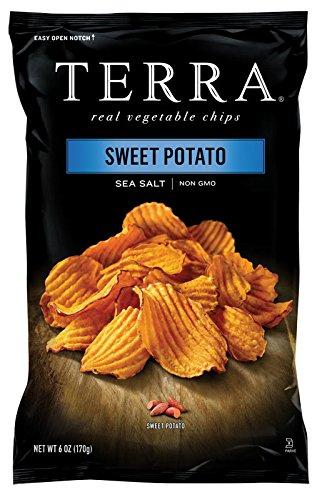 TERRA Crinkle Cut Sweet Potato, Sea Salt, 6 Ounce (Pack of 12) (Terra Chip Sea Salt compare prices)