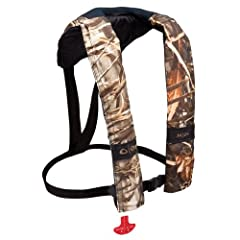 Onyx M 24 Manual Camouflage Inflatable Life Jacket by Onyx Outdoor